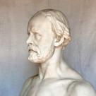 "Skulptur– ""Christian Friedrich Hebbel"""