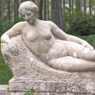 """Zwei Skulpturen– """"männlicher und weiblicher Akt"""""""