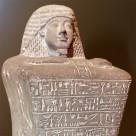 Skulptur– Grabstatue des Amenhotep Huy