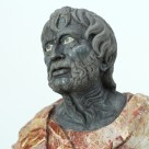 """Skulptur– """"Annaeus Seneca (3–65 n. Chr.)"""""""