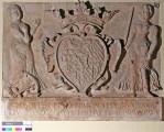 Bestands- und Zustandserfassung des Epitaph für Dorothea Susanna, geb. Pfalzgräfin bei Rhein (mit Wappen und Allegorien)
