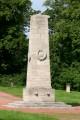 Obelisk auf dem sowjetischen Ehrenfriedhof in Weimar Belvedere– Endzustand Mai 2009