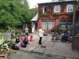 Besuch im Rosenhof - Frühstück