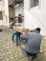 Herstellung von Neuteilen und Vierungen (Natursteinrekonstruktion)