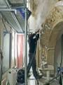 Reinigung mittels Dampfstrahlverfahren