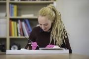 Stefanie Papenheim - Die Rekonstruktion der Schulter, Rekonstruktion der Farbfassung