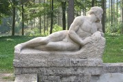 """Skulptur — """"männlicher Akt """" (Endzustand)"""