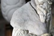 """Plastik – """"Lucas Cranach d.Ä."""" (während der Reinigung mit Laponite® RD-Gel)"""