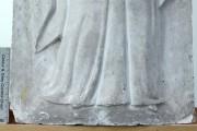 """Plastik — Relief """"Trauernde"""" (Vorzustand, Detail)"""