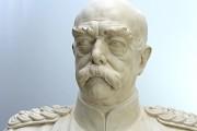 """Plastik — """"Otto Fürst von Bismarck"""" (nach Reinigung, Oberflächenverschlüsse, Formergänzungen und Retusche)"""