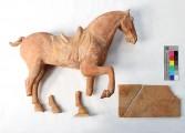 "Plastik — ""Pferd"" Tang Dynastie, Vorzustand"