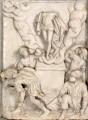 """Epitaph des Heinrich von Bünau – Relief """"Auferstehung"""", Endzustand"""