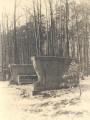 Löwenbank – Denkmal Fürst Ludwig Friedrich II., historische Fotografie (14.12.1940) Quelle: Stadtarchiv Rudolstadt, Bildarchiv.