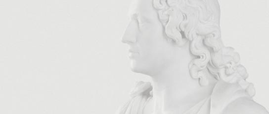 Büste »Johann Wolfgang von Goethe« von Alexander Trippel, 1790