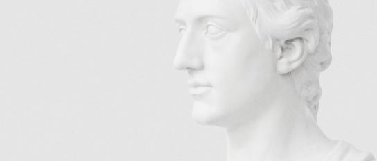 Büste »Johann Wolfgang von Goethe« von Martin Gottlieb Klauer, 1778/79