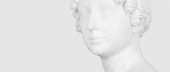 Büste »Maria Pawlowna« von Peter Kaufmann, 1820