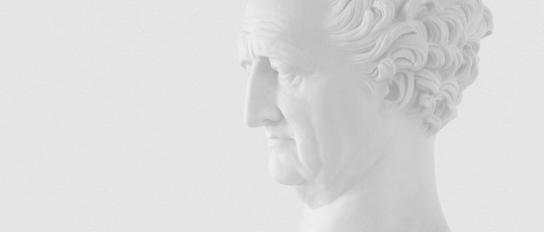 Büste »Johann Wolfgang von Goethe« von Pierre Jean David d'Angers, 1831